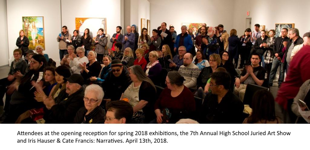 Art Reception at the Mann Art Gallery