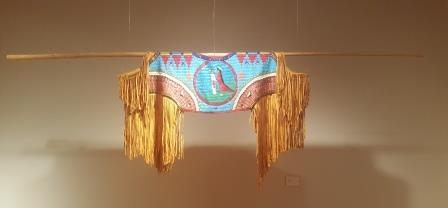 indigenous beaded artwork